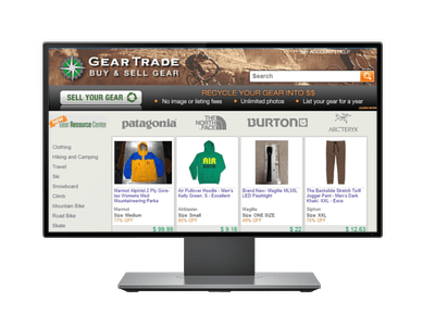 Gear Trade - Project Portfolio of Freelancers HUB