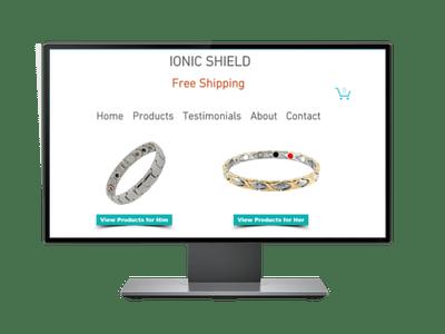 Ionic Shield - Project Portfolio of Freelancers HUB