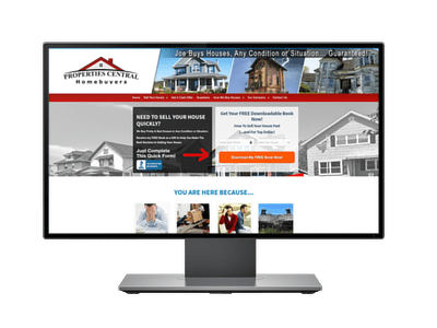 Properties Central Home Buyer - Project Portfolio of Freelancers HUB