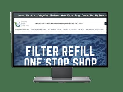 Showerfilterstore - Ecommerce portfolio of Freelancers HUB