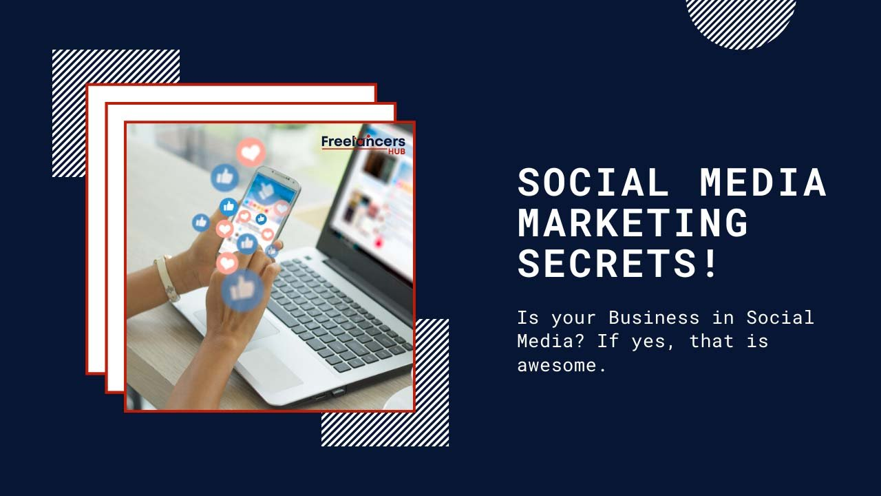 Social Media Marketing Secrets for a Fast Growing Business Promotion - Freelancers HUB