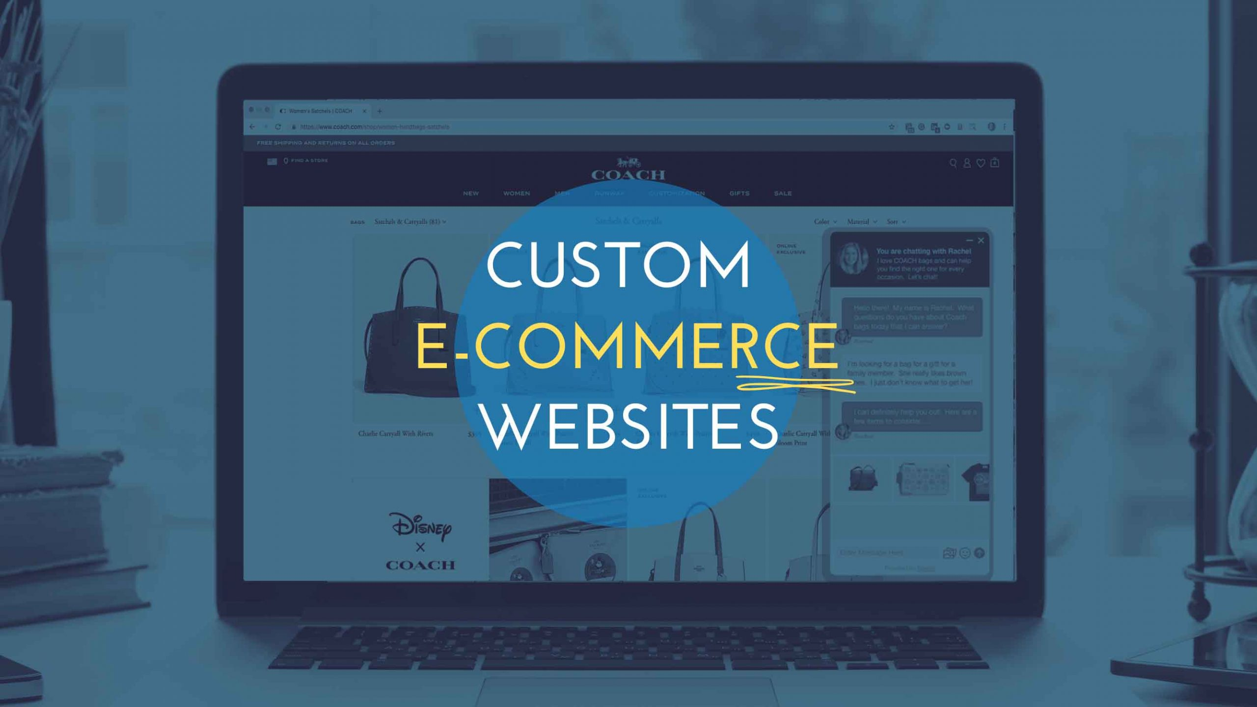 Custom E-Commerce Websites - Freelancers Hub