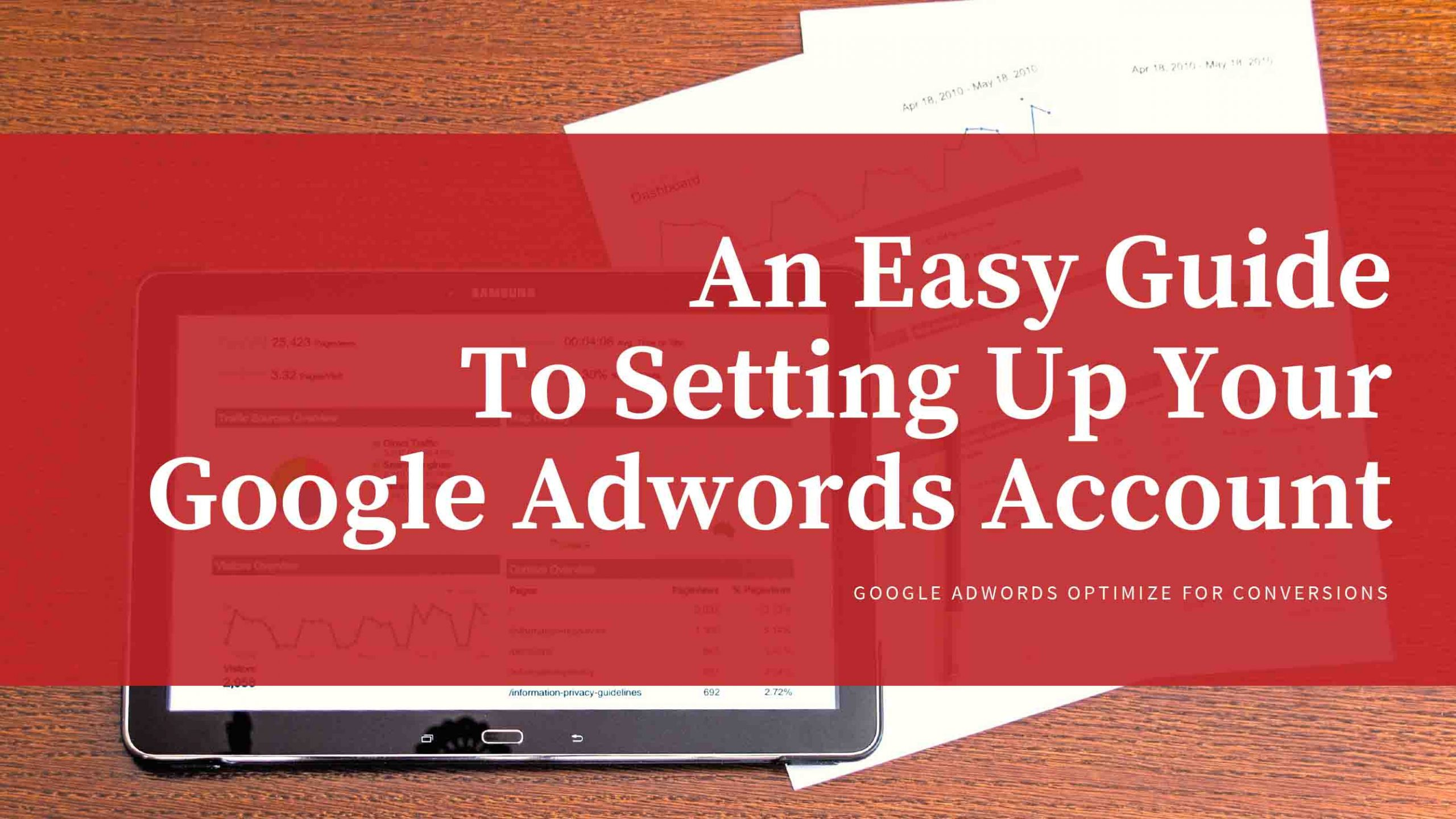 Easy Guide To Setting Up Your Google Adwords Account - Freelancers HUB