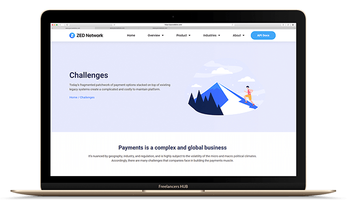 zed network web solutions by freelancers hub
