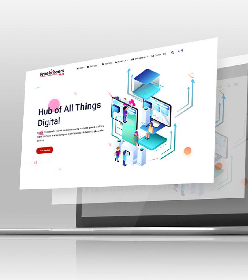 freelancers hub web design